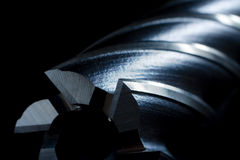 Bit de foret de moulin en métal photographie stock