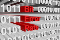 Bit error rate Stock Photography