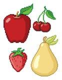 8 Bit Fruit Royalty Free Stock Photo