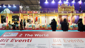 BIT, International Tourism Exchange Royalty Free Stock Image