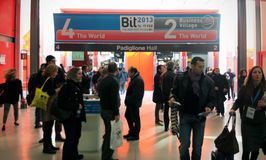 BIT 2013, International Tourism Exchange Stock Photo
