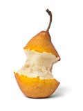 Bit of pear Stock Images