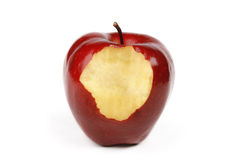 Bit of piece apple Royalty Free Stock Images