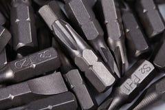 Bit for screwdrivers Stock Photo