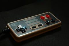 8 bit video game joystick nintendo Royalty Free Stock Images