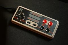 8 bit video game joystick 2 nintendo Stock Photo