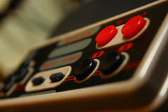 8 bit video game joystick 4 nintendo. Old 8 bit video game joystick photo nintendo royalty free stock image