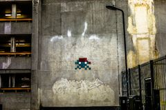 8-bit Wall Stock Images
