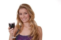 A Bit of Wine Royalty Free Stock Image