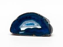 Bitande blå agat Arkivbild