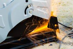 Bitande stål Royaltyfri Fotografi