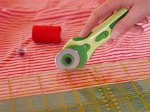 Bitande textiler Royaltyfri Foto