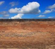 Bitande yttersida av den inre strukturen för asfaltväg som spolar ren inre lager för show Royaltyfri Foto