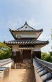 Bitchu松山城堡,高桥,日本Nijuyagura塔  库存照片