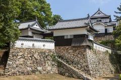 Bitchu Matsuyama slott - Japan Royaltyfri Fotografi