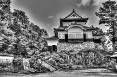 Bitchu Matsuyama slott - Japan Royaltyfria Foton