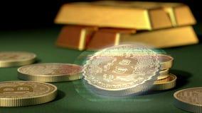 Bitcoin忽悠 不稳定的隐藏货币 影视素材