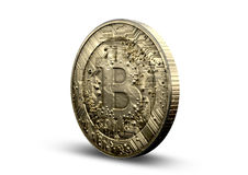 Bitcoin物理 免版税库存照片