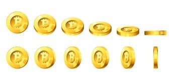 Bitcoin για τη ζωτικότητα Στοκ εικόνες με δικαίωμα ελεύθερης χρήσης