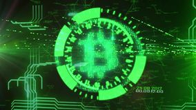 Bitcoin εγκαίρως απόθεμα βίντεο