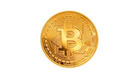 Bitcoin - νόμισμα BTC κομματιών το νέο crypto νόμισμα Στοκ φωτογραφίες με δικαίωμα ελεύθερης χρήσης