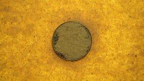 Bitcoin στη χρυσή άμμο φιλμ μικρού μήκους