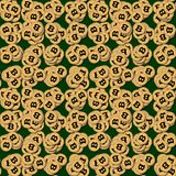 Bitcoin, σωρός των cryptocurrencies Στοκ εικόνες με δικαίωμα ελεύθερης χρήσης