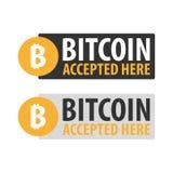 Bitcoin Ψηφιακό αγρόκτημα μεταλλείας Cryptocurrency Έμβλημα τεχνολογίας Στοκ Εικόνες