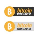 Bitcoin Ψηφιακό αγρόκτημα μεταλλείας Cryptocurrency Έμβλημα τεχνολογίας Στοκ εικόνα με δικαίωμα ελεύθερης χρήσης