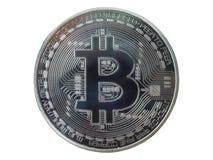 Bitcoin, валюта Cryptocurrency цифров Стоковая Фотография