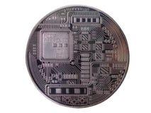 Bitcoin, валюта Cryptocurrency цифров Стоковое фото RF