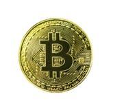 Bitcoin изолировало стоковое изображение