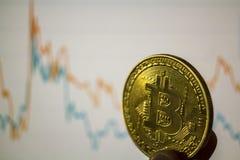 Bitcoin и глобальная рыночная цена обменом торговой операции составляют схему на заднем плане Cryptocurrency инвестируя концепцию стоковое изображение rf