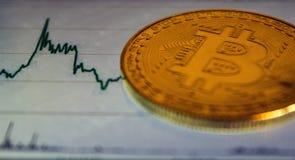 Bitcoin и глобальная рыночная цена обменом торговой операции составляют схему на заднем плане Cryptocurrency инвестируя концепцию стоковая фотография rf