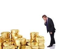Bitcoin реально? стоковые фотографии rf