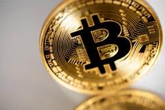 Bitcoin Immagine Stock Libera da Diritti