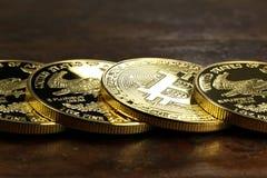 Bitcoin Στοκ Φωτογραφία