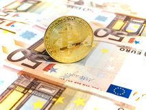 Bitcoin Obrazy Stock