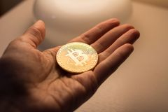 Bitcoin Стоковое Изображение