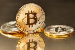 Bitcoin Fotografía de archivo