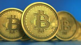 Bitcoin Imagen de archivo libre de regalías