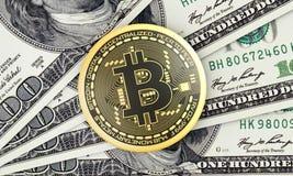 Bitcoin ilustração do vetor