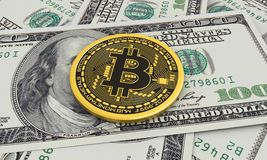 Bitcoin foto de stock royalty free