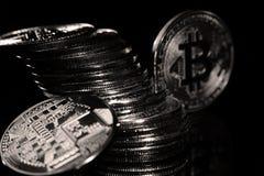 Bitcoin στοκ φωτογραφίες με δικαίωμα ελεύθερης χρήσης