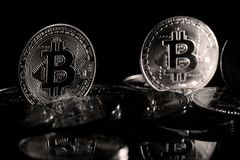 Bitcoin στοκ εικόνες με δικαίωμα ελεύθερης χρήσης