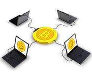 Bitcoin Lizenzfreies Stockfoto
