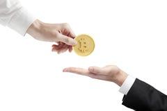 Bitcoin royaltyfri fotografi