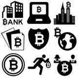 Bitcoin Stockfoto