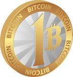 Bitcoin stock illustratie