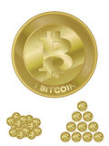 Bitcoin Royalty Illustrazione gratis